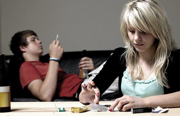 подросток наркоман